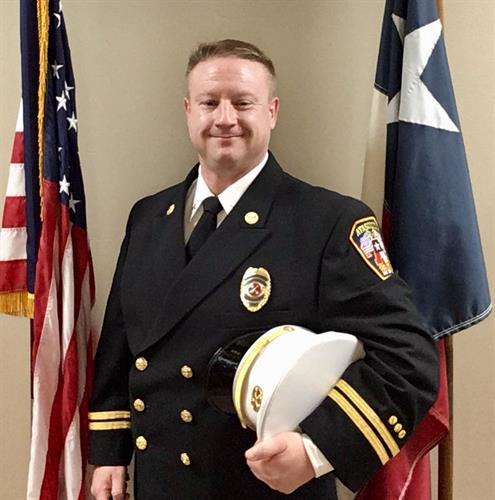 Battalion Chief - Derek Sandquist