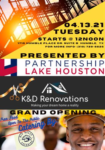 K&D Renovations, LLC Event Flyer