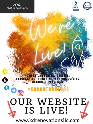Our Website Is LIVE!