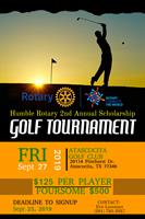 Play golf, have fun and help fund scholarships for students in the Humble Independent School District.