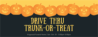 Drive Thru Trunk-or-Treat!