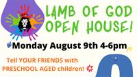 Lamb of God Preschool Open House Showcasing NEW Building!
