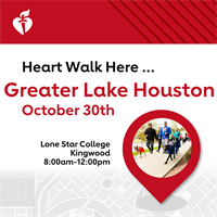 2021 Greater Lake Houston Heart Walk