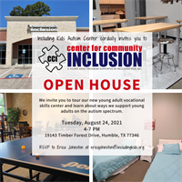 Center for Community Inclusion Community Open House
