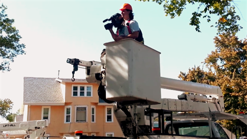 Tree Care Industry Association arborist safety videos, produce in Spanish and English formats