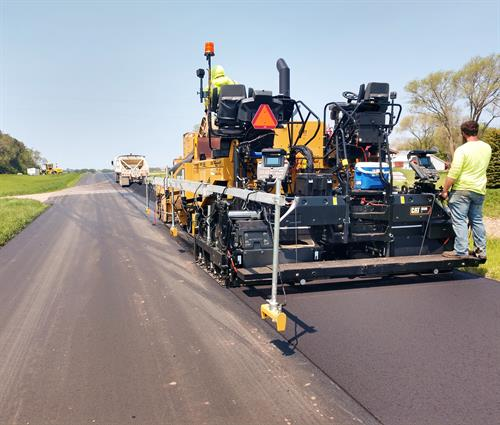 Paving in Brookings County
