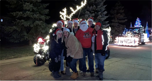 Community involvement in the Festival of Lights