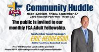 FCA Community Huddle