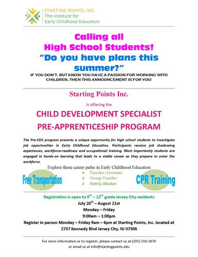 This is a great opportunity for teenagers! There's still time to join.