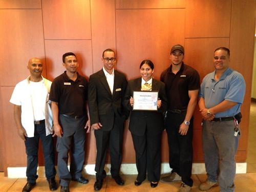 "Employee Recognition:  ""Site of the Quarter"""