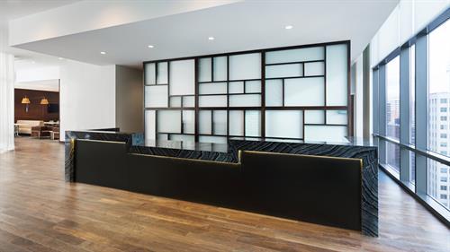 Hyatt House Jersey City Hotel Registration on the Terrace Level