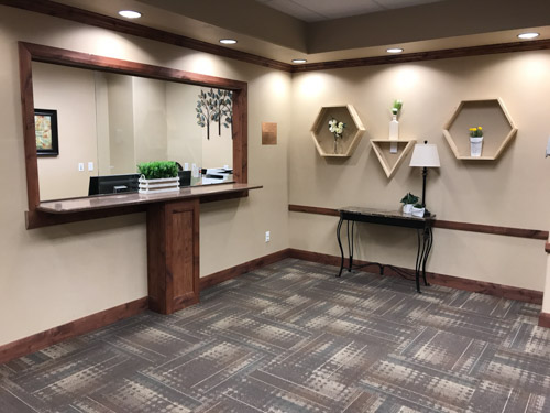Patient Reception Area