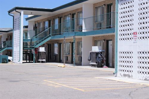 Laundry, snack machine and ample food vendoors just steps away from your room.