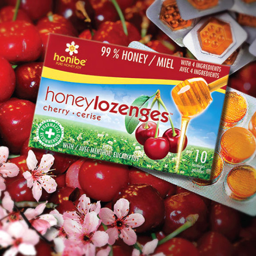 Packaging design for new flavours Honibe
