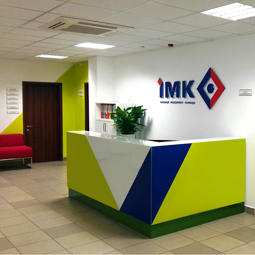 Rebranding of IMC (interior design)
