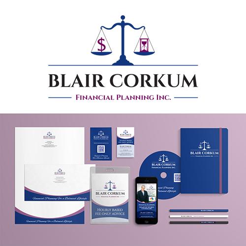 Branding for Blair Corkum Financial Planning Inc.