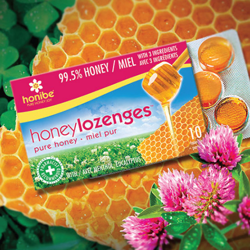 Rebranding of Honibe Lozenges