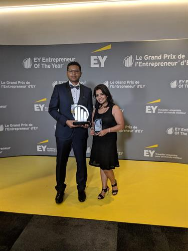 EY Entrepreneur of the Year 2018, Mohammed Moin and Dihan Ahsan