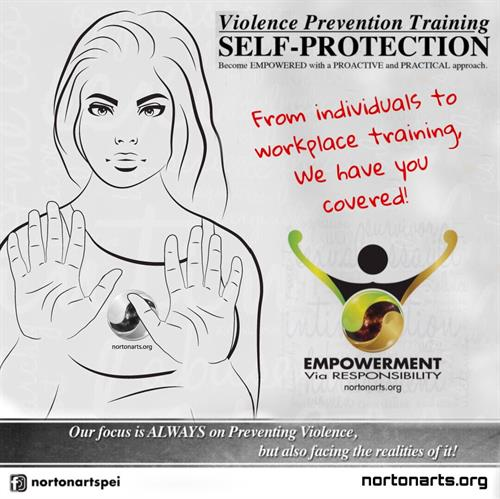 Norton Arts Practical Violence Prevention | Self-protection Training in Atlantic Canada