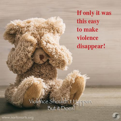 Norton Art: Violence Shouldn't Happen, But it Does! - Based in PEI