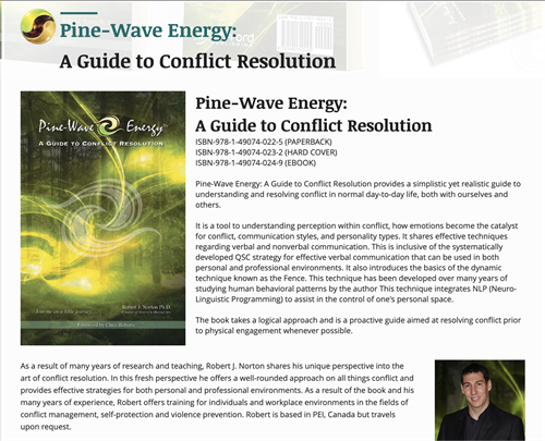 Pine-Wave Energy: A Guide to Conflict Resolution by Robert Norton