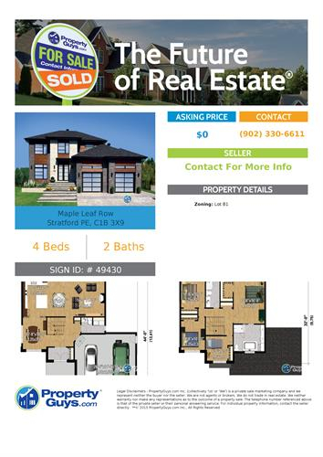 Lot B1. You can use this home design or choose your own!