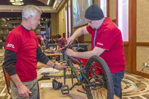 "Cogsdale ""Sons of Accountability"" Bike Build Activity - developed and implemented by Experience PEI"