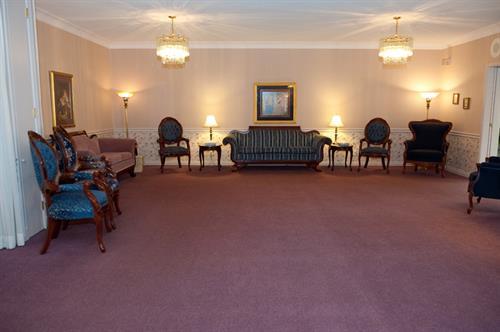 Visitation area