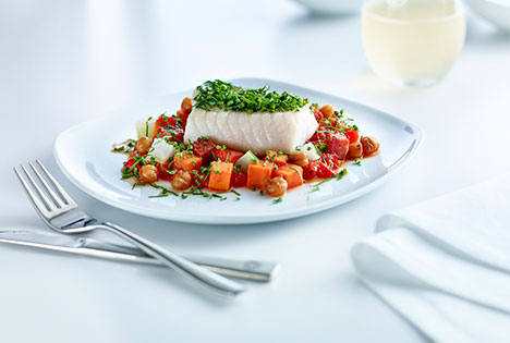 Chef Inspired International Business Class Meals