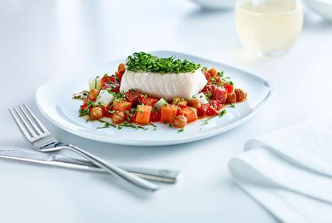 Chef Inspired International Business Class Meals