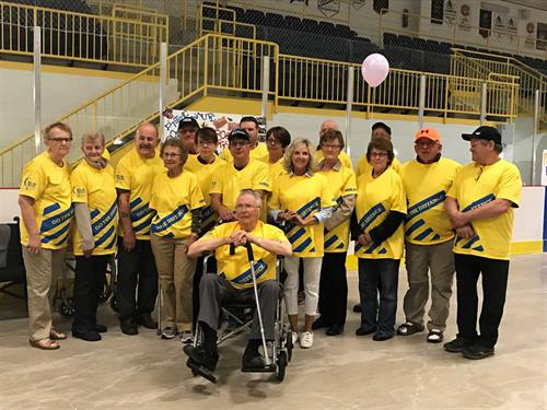 Community cancer survivors honoured at Three Oak's Senior High's Relay For Life Youth event this past spring