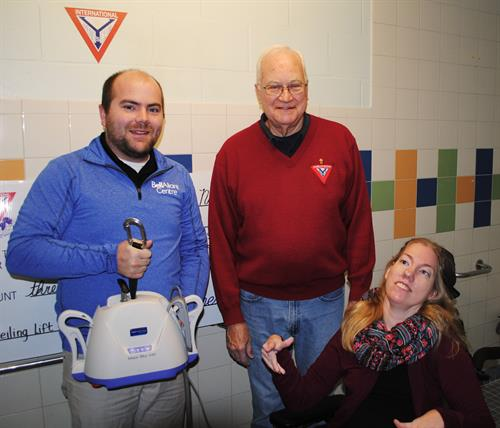 YsMen supporting accessible change space renos