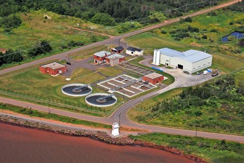Summerside Waste Water Tratment Plant