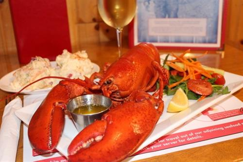 The perfect lobster dinner!