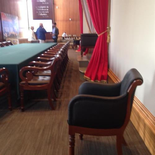 Confederaton Reproduction Furniture finished & delivered