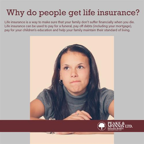 Why Do People Get Life Insurance