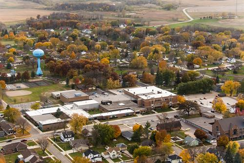 Lake Mills Community School; Iowa. Photo Cred: Lorinda Groe