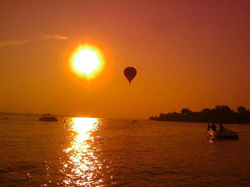 Lake Red Rock Sunset, Pella IA