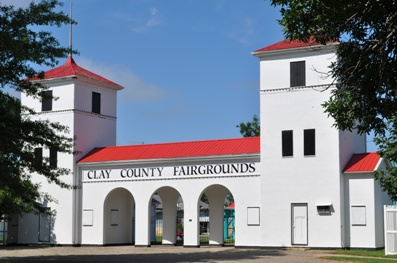 Clay County Fair Historic Tower Gate