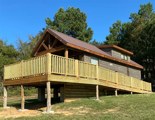 Our deluxe cabin ADA accessible