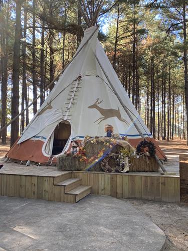 One of our beautiful Teepees