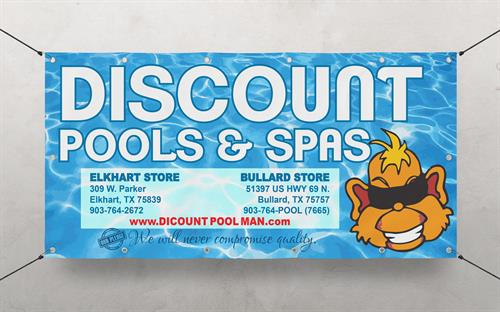 Full Color Digitally Printed Banner