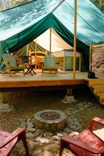 Anyone for glamping?