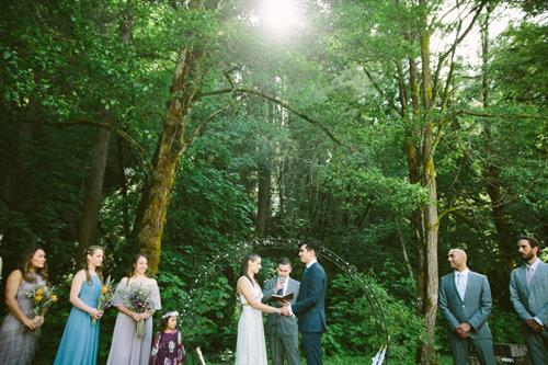 Multiple locations for the perfect ceremony spot