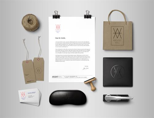 Branding Suite; Argent Mill Clothing