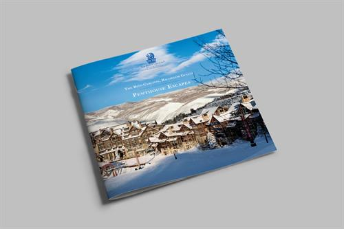 Printed Collateral; The Ritz Carlton Bachelor Gulch, Penthouse Booklet