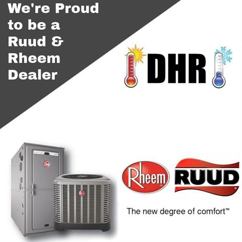 Ruud and Rheem Dealer!