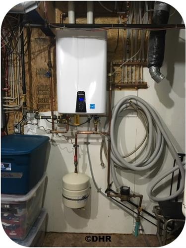 Tankless Hot Water Heater Residential