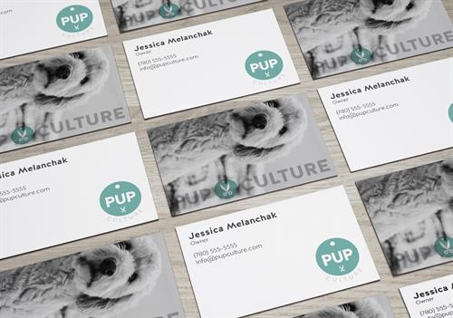 Pup Culture brand—designed by Sarvas Design Company.