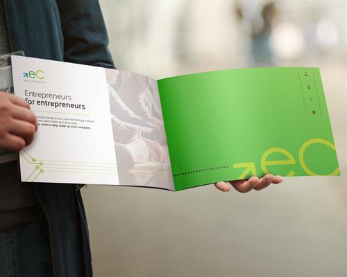 TEC Edmonton annual report—designed by Sarvas Design Company.